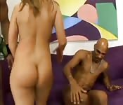 White girl inspected and fucked