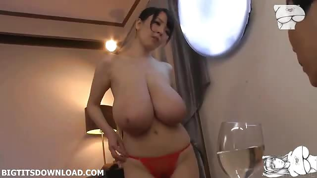 Japanese Big Tits White Cock