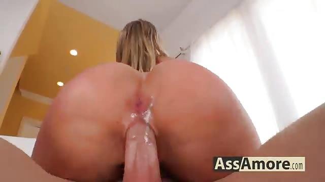 Big Tit Black Anal Creampie