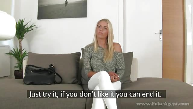 Beautiful Euro blonde Karina Grand giving big dick handjob and blowjob  1142071