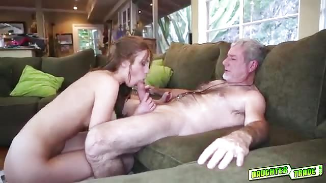 Girl eats cream pie