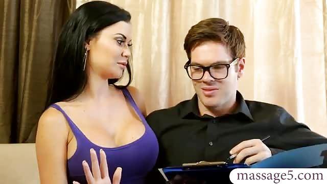 Busty Latina Aruba Jasmine getting screwed by her masseur after massage № 1063480  скачать
