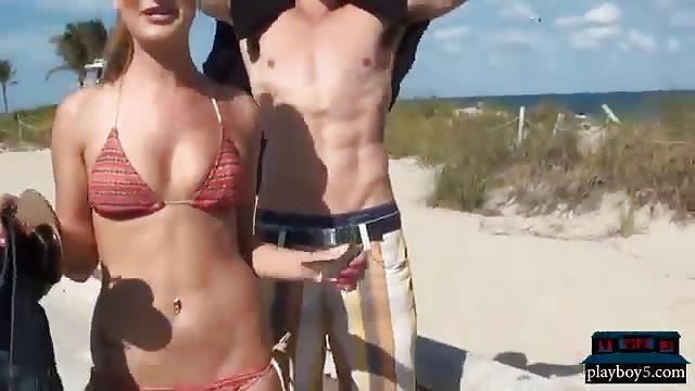 sex beach money amateur