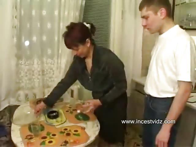 Son and His Friends Fuckes Mom in the kitchen - Pornburst.xxx