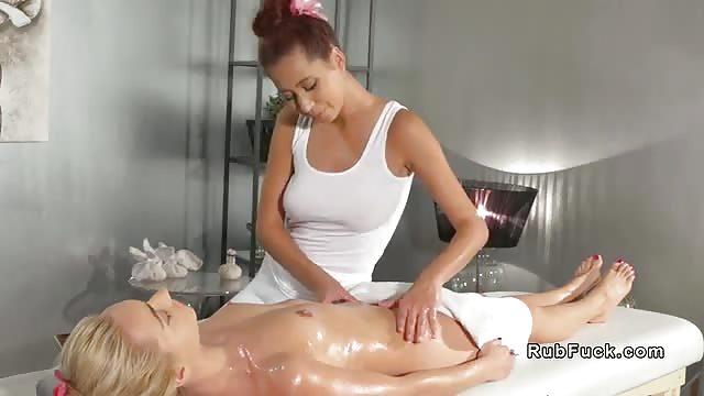 Carter Cruise Lesbian Massage