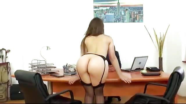 chef ficken im buro sekretarin