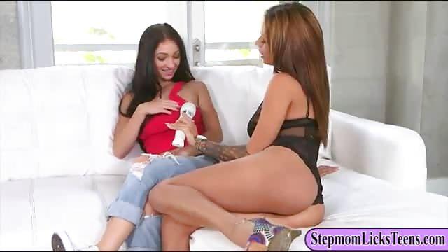 Lesbian Stepmom Sex 48