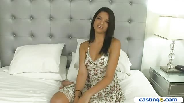 19yo casting newbie gets her tight cunt fucked 1