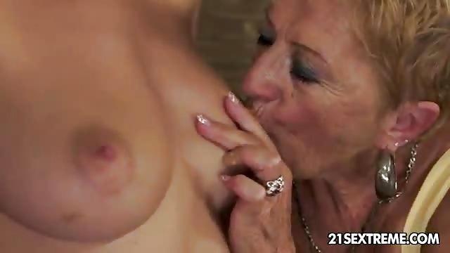 grandma fucks granddaughter